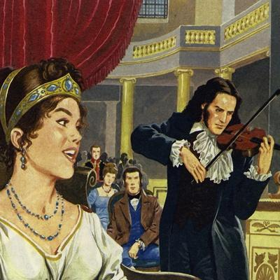 Paganini Became Court Conductor at Lucca and Composed the Sonata Napoleon