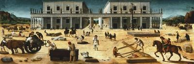 Construction of Building, 1515-1520