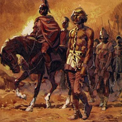 Vercingetorix Put on His Finest Armour and Surrendered