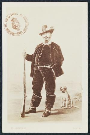 Portrait in Hunting Attire of Victor Emmanuel II of Savoy