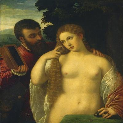 Allegory, Possibly Alfonso D'Este and Laura Dianti