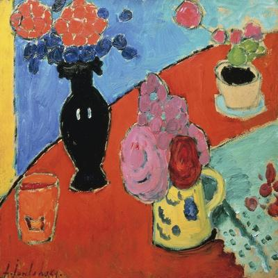 Still Life with Vase and Jug