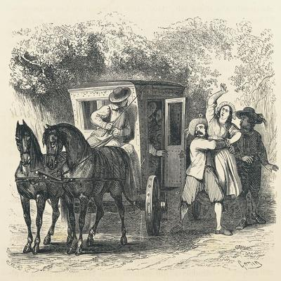 Abduction of Lucy, Episode from Betrothed