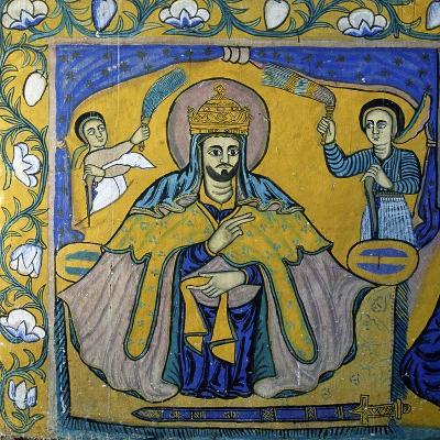 Scenes from Sacred Books, Paintings in Ura Kidane Meret Monastery