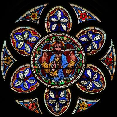 Window W205 Depicting Christ of the Last Judgement