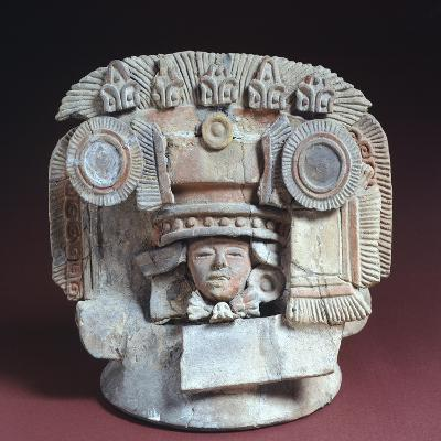 Lid of a Funeral Urn Originating from Teotihuacan