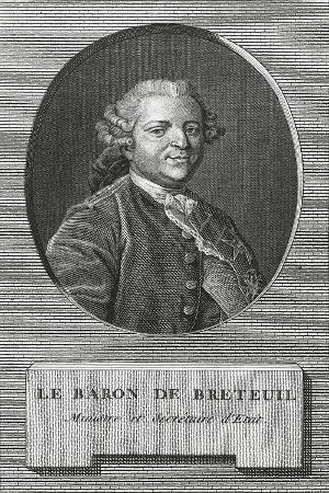 Portrait of Louis Charles Auguste Le Tonnelier De Breteuil