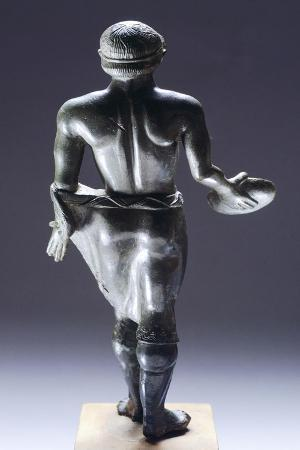 Young Male Praying, Bronze Figurinette from Monteacuto Ragazza