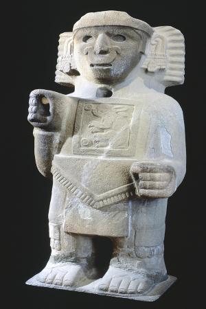 God of Pulque, Artifact Originating from Da Castillo De Teayo