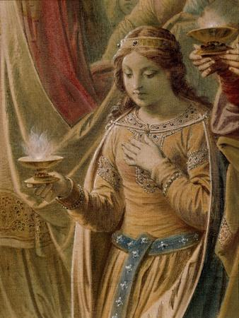 The Miracle of the Grail, from the Lohengrin Saga, Salon