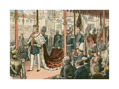 The Coronation of Wilhelm I, King of Prussia and First German Emperor