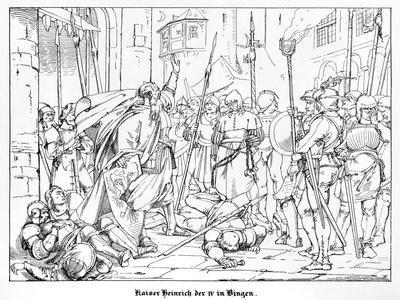 Emperor Henry IV at Bingen
