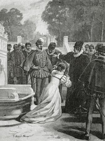 Queen Elisabeth and the Earl of Leicester, 19th Century