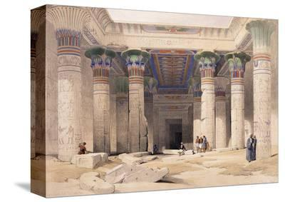Grand Portico of the Temple of Philae - Nubia, 1842-1849
