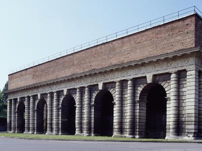 Inner Facade of Porta Palio, Ca 1550-1560