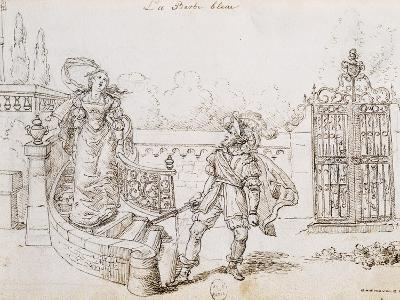 Bluebeard, Illustration for Fairy Tale