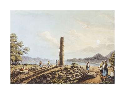 The Remains of the Temple of Hera in Samos, 1803