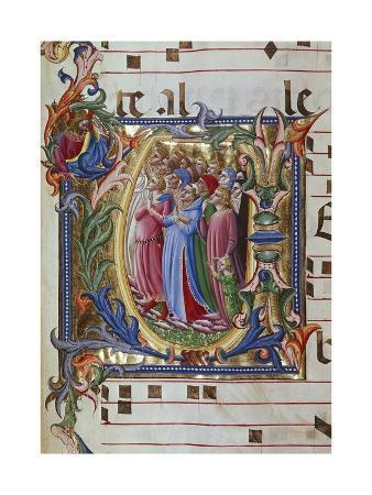 Initial Letter of Choral, Miniature