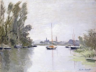 Argenteuil, View of the Small Arm of the Seine, 1872