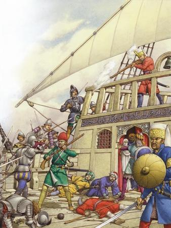 The Knights of St John Seized Turkey's Finest Galleon, the Sultana