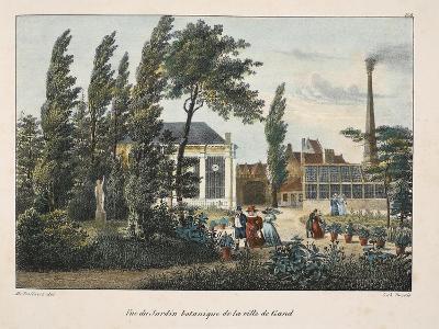 Vue Du Jardin Botanique De La Ville De Gand, C.1895