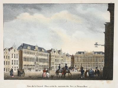 Vue De La Grand Place Et De La Maison Du Roi, À Bruxelles, C.1895