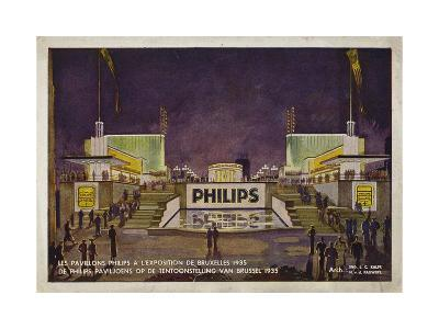 Philips Pavilions, Brussels International Exposition, 1935
