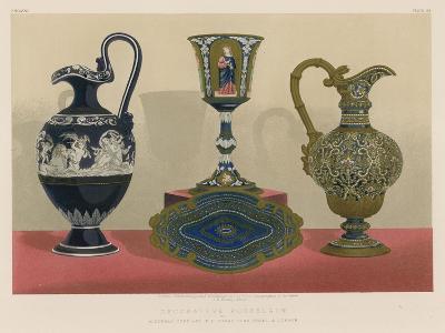 Decorative Porcelain by Alderman Copeland M P Stoke-Upon-Trent and London