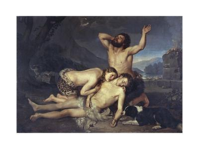 Adam and Eve Mourn over Abel's Body
