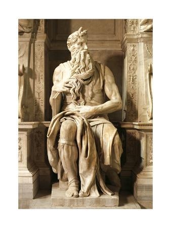Moses, Detail from Tomb of Julius II