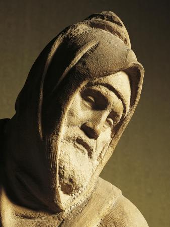 Nicodemus, Detail by Pieta Bandini