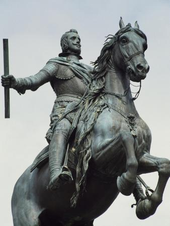 Equestrian Statue from the Monument to Philip IV