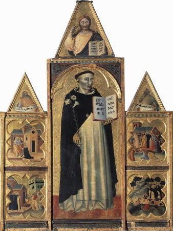 Altarpiece Showing St Dominic and Stories of His Life