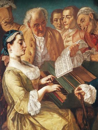 Musical Entertainment, 1745-1755