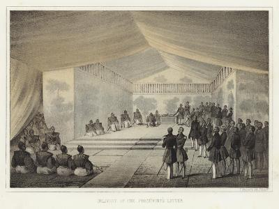 Delivery of the President's Letter, Kurihama, Japan, 14 July 1853