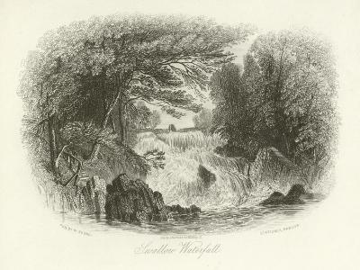 Swallow Waterfall, Near Betws-Y-Coed, North Wales
