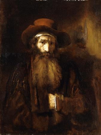 A Bearded Old Man, Wearing a Brown Coat and Russet Hat, 1651
