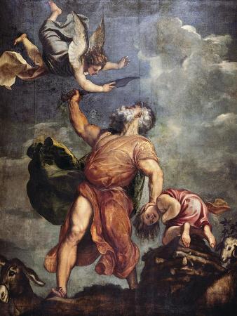 Abraham and Isaac, 1543