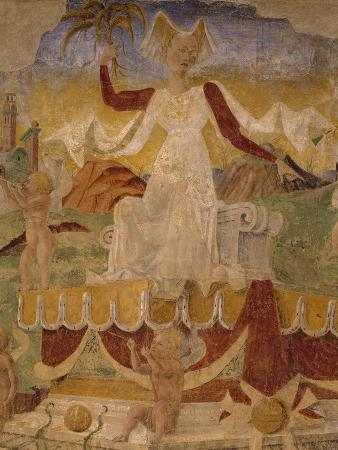 Triumph of Ceres, Scene from Month of August