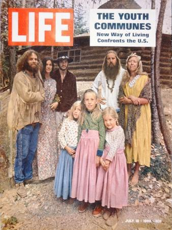 The Youth Communes', Front Cover of 'Life' Magazine, 18th July 1969