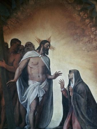Appearance of Risen Christ to Virgin, 1552-1556