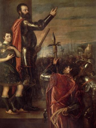 The Speech of the Marquis of Vasto, 1540-1541