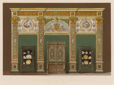 Wall Decoration and Cabinets by Mr J C Crace, London