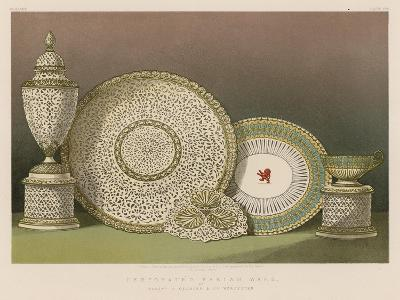 Perforated Parian Ware by Messrs G Granger and Co, Worcester