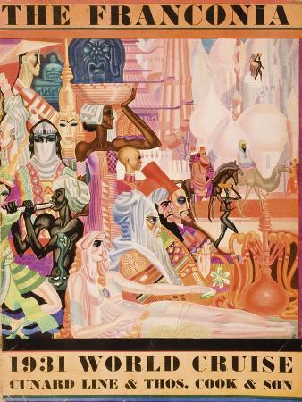 Cunard Line Promotional Brochure for the 'Franconia', 1931