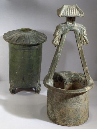Well and Grain Silo, Model from a Funerary Collection
