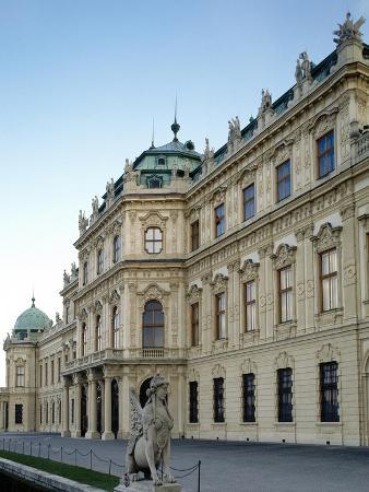 Austria, Vienna, Belvedere, Upper Belvedere 1717-1723