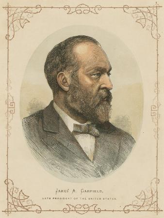 James a Garfield, 20th President of the United States