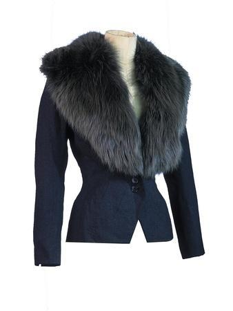 Tailored Jacket with a Deep Collar Owned by Marilyn Monroe