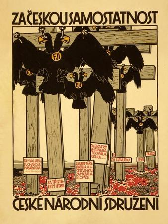 Za Ceskou Samostatnost, Ceske Narodni Sdruzeni, C.1918